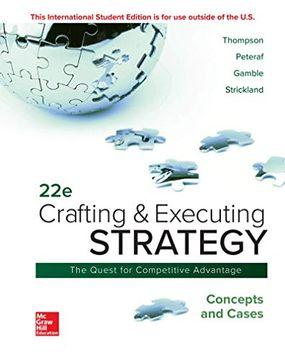 portada Crafting & Executing Strategy: Concepts and Cases (libro en Inglés)
