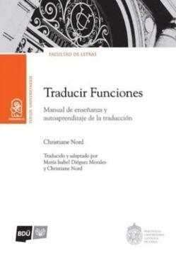 portada Traducir Funciones. Manual de Enseñanza y Autoaprendizaje