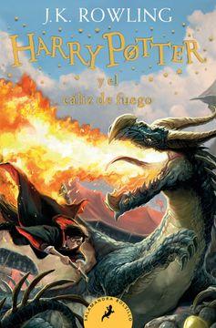 portada Harry Potter y el cáliz de fuego (Harry Potter 4)