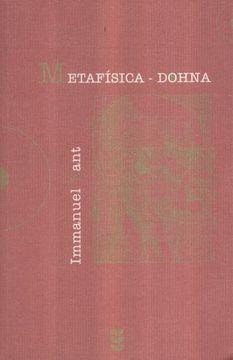 portada Metafisica - Dohna