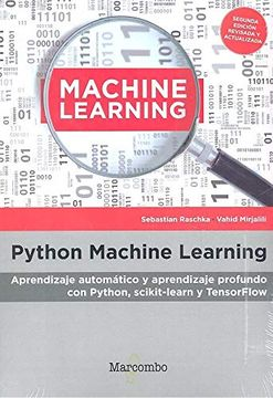 portada Python Machine Learning: Aprendizaje Automático y Aprendizaje Profundo con Python, Scikit-Learn y Tesnorflow
