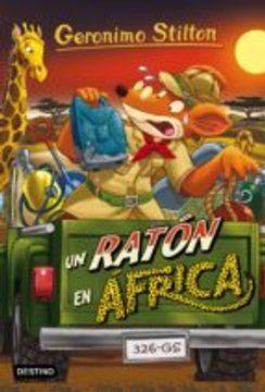 portada Geronimo Stilton 62. Un ratón en África