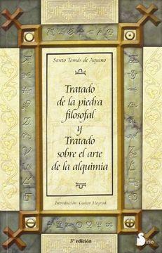 portada Tratado de la Piedra Filosofal y Tratado Sobre el Arte de la Alquimia