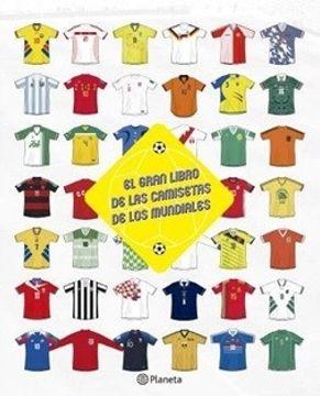 portada El Gran Libro de las Camisetas de los Mundiales