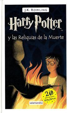 portada Harry Potter y las Reliquias de la Muerte