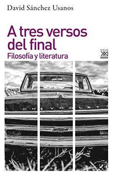 portada A Tres Versos del Final