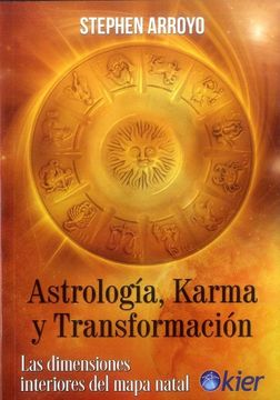 portada Astrología, Karma y Transformación. Las Dimensiones Interiores del Mapa Natal