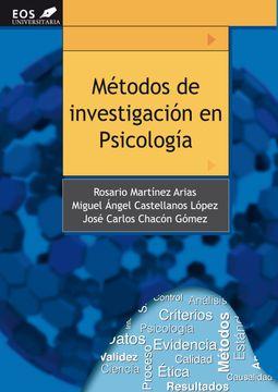portada Métodos de Investigación en Psicología