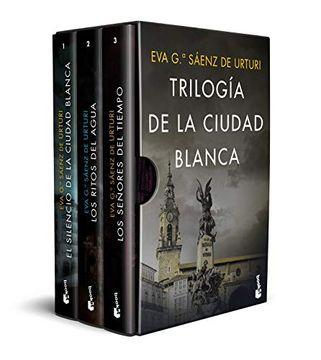 portada Estuche Trilogía de la Ciudad Blanca (Crimen y Misterio)