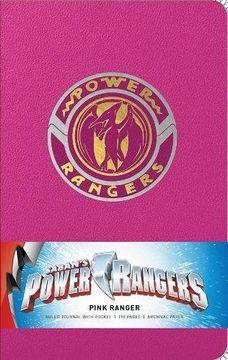 portada Power Rangers: Pink Ranger Hardcover Ruled Journal (Insights Journals) (libro en inglés)