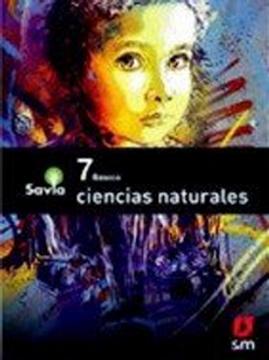 portada Texto Ciencias Naturales 7º Basico (Proyecto Savia) (Sm)