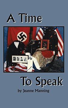 portada A Time to Speak (libro en Inglés)