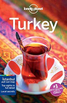 portada Lonely Planet Turkey (libro en Inglés)