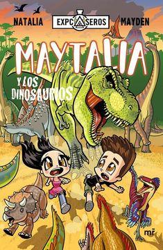 portada Maytalia y los Dinosaurios