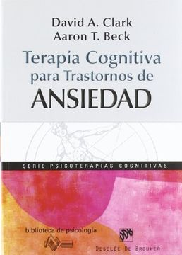 portada Terapia Cognitiva Para Trastornos de Ansiedad