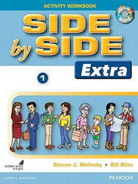portada Side by Side (Classic) 1 Activity Workbook with CDs (libro en Inglés)