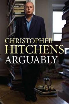 portada arguably. christopher hitchens