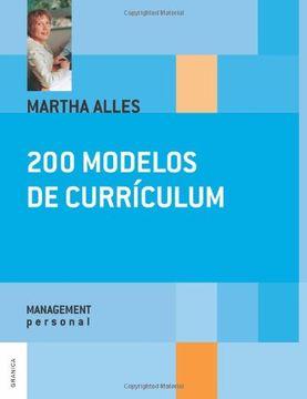 portada 200 Modelos de Curriculum