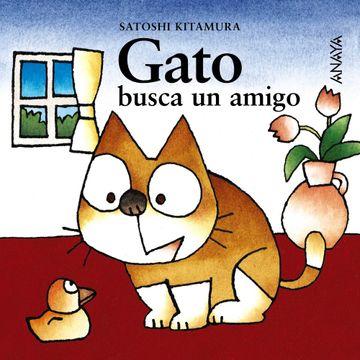 portada Gato Busca un Amigo (Primeros Lectores (1-5 Años) - mi Primera Sopa de Libros)