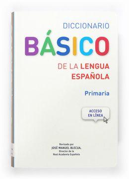 portada Diccionario Basico de la Lengua Española. Primaria
