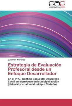 portada Estrategia de Evaluacion Profesoral Desde Un Enfoque Desarrollador