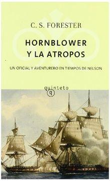 portada hornblower y la atropos (quinteto)