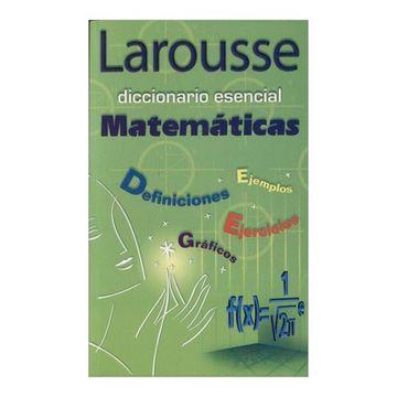 portada Diccionario Esencial Matematicas