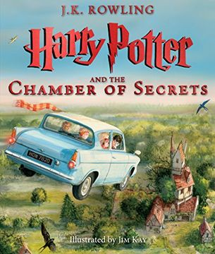 portada Harry Potter and the Chamber of Secrets: The Illustrated Edition (Harry Potter, Book 2) (libro en Inglés)