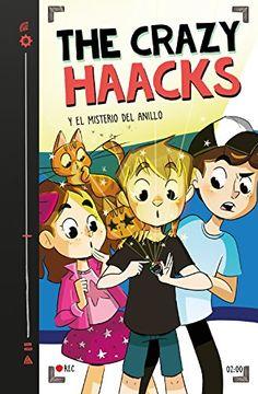 portada The Crazy Haacks y el Misterio del Anillo (Serie the Crazy Haacks 2)
