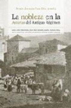 portada la nobleza en la asturias del antiguo régimen