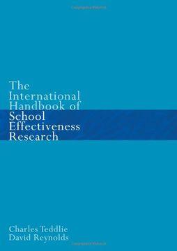 portada International Handbook of School Effectiveness Research: An International Survey of Research on School Effectiveness (libro en inglés)