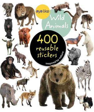 portada Eyelike Stickers: Wild Animals