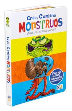 portada Crea y Combina Monstruos