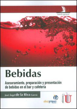 portada Bebidas Asesoramiento Preparacion y Presentacion de Bebidas en el bar y Cafeteria