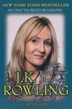 portada J. K. Rowling: The Wizard Behind Harry Potter (libro en inglés)