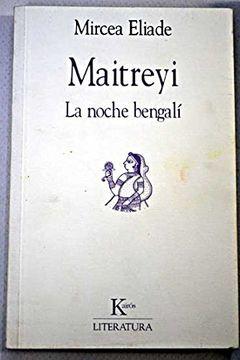 portada Maitreyi (la Noche Bengali)