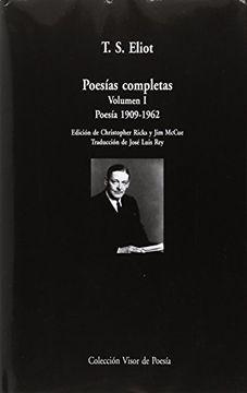 portada Poesías Completas. Volumen i: Poesía, 1909-1962 (Visor de Poesía Maior)