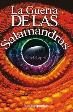 portada La Guerra de las Salamandras