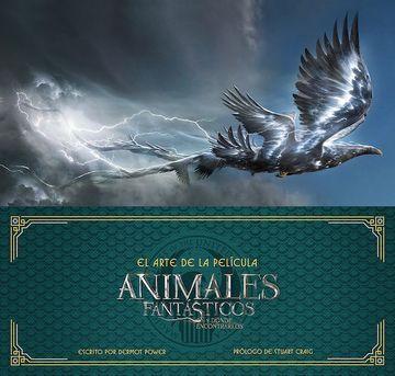 portada El Arte de la Pelicula de Animales Fantasticos y Donde Encontrarlos