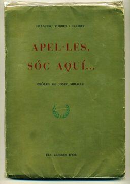 portada Apel·Les, Soc Aqui… Inclou Ribut A Mossèn Ramon Garriga, L'Ermità De Samalús