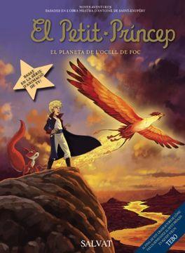 portada El Petit Príncep, 2. El Planeta de l ' Ocell de Foc (Català - Salvat - Comic - A. De Saint-Exupéry)