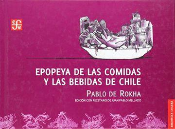 portada Epopeya de las Comidas y las Bebidas de Chile