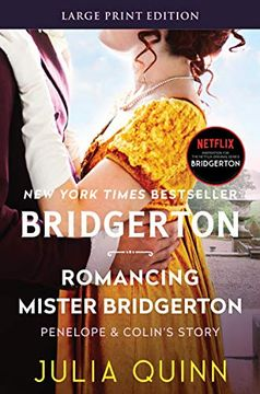 portada Romancing Mister Bridgerton: 4 (Bridgertons) (libro en Inglés)