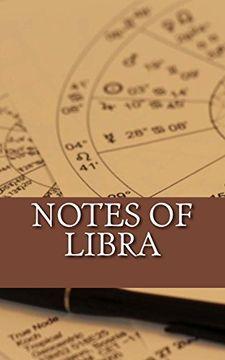 portada Notes of Libra (journal, diary, notebook)
