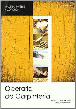 portada Operario de Carpintería, Garantía Social