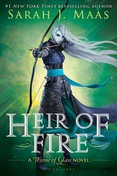 portada Heir of Fire (Throne of Glass) (libro en Inglés)