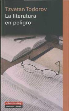 portada La Literatura en Peligro