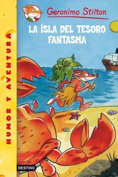 portada Stilton 42: La Isla del Tesoro Fantasma (Geronimo Stilton)