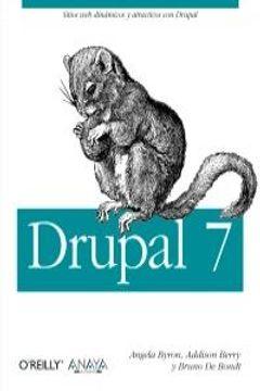 portada Drupal 7 (Anaya Multimedia/O¿Reilly)