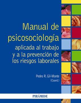 portada Manual de Psicosociología Aplicada al Trabajo y a la Prevención de los Riesgos Laborales